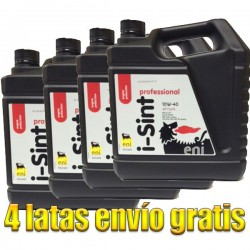 Aceite coche 10w40 Eni i-Sint Prof 5Ltrs -LOTE 4 LATAS-
