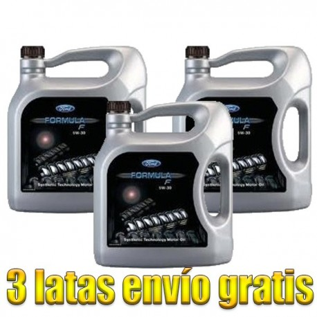 Ford Formula F 5w30 5Ltrs -LOTE 3 LATAS-
