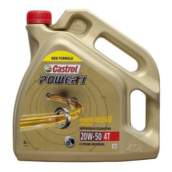 Castrol Power 1 20w50 4ltrs