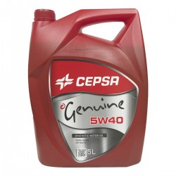 Aceite 5w40 Cepsa Genuine Synthetic 5Ltrs