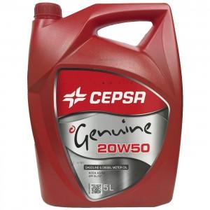 Aceite 20w50 Cepsa Genuine 5Ltrs