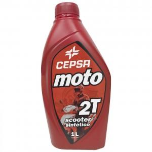 Cepsa Moto Scooter 2T sintetico 1Ltr