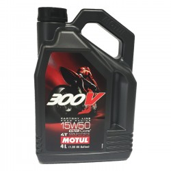 Motul 300V Moto 4t 15w50 FACTORY LINE ROAD RACING 4Ltrs