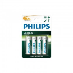 PILAS SALINA PHILIPS R6 OUTLET