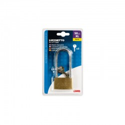 CANDADO ARCO LARGO 50MM OUTLET