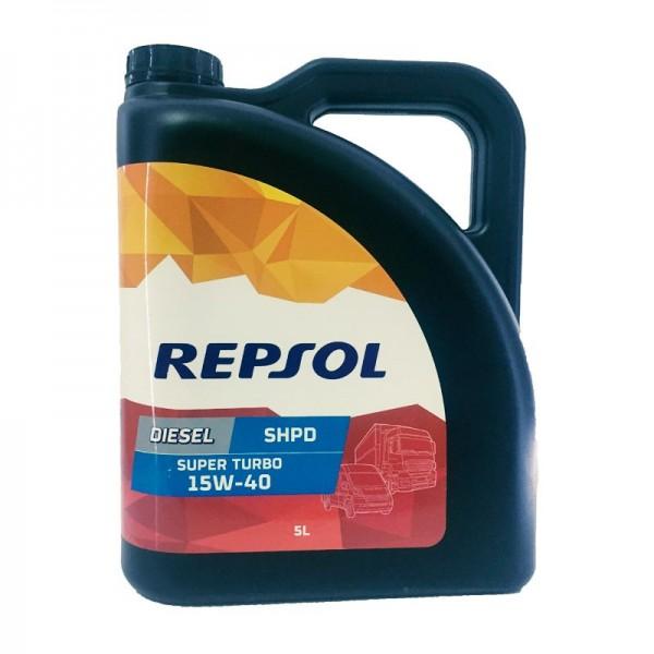 Repsol Superturbo Diesel SHPD 15w40 5L