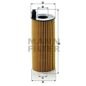 Filtro aceite MANN HU6004X
