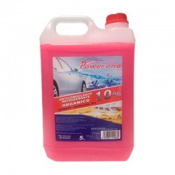 Anticongelante Rosa 10% Power-One Organico 5L