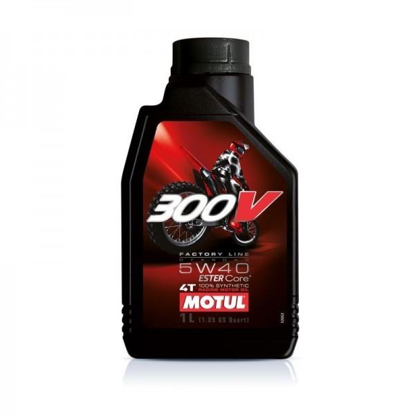 Motul 300V Moto 4t 5w40 FACTORY LINE OFF ROAD 1Ltrs