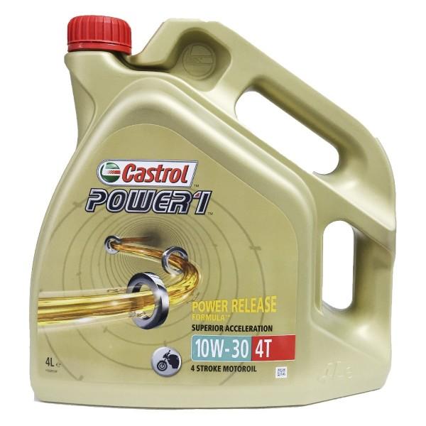 Castrol Moto 4T Power 1 10w30 4Ltrs