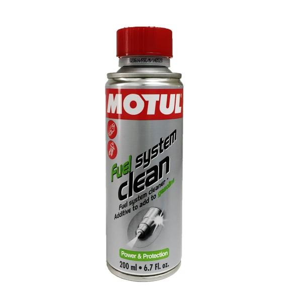 Motul aditivo moto 4t Fuel System Clean 200ml