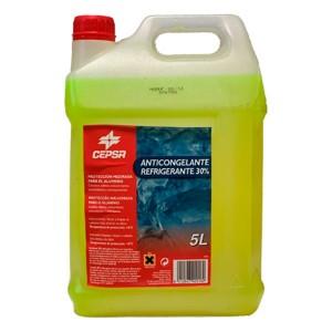 Anticongelante Cepsa 30% Amarillo 5L
