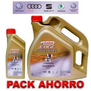 Castrol Edge 5w30 Professional LL3 Pack 4+1L