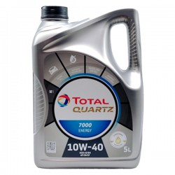 Aceite Total Quartz 7000 Energy 10w40 5Ltrs