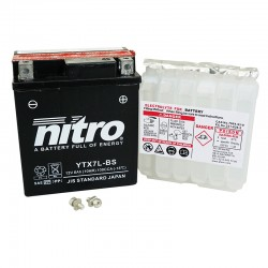 BATERIA MOTO YTX7L-BS NITRO