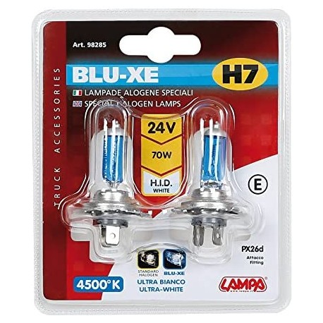 BLISTER LAMPARA H7 BLU-XE 24V 70W OUTLET