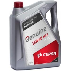 Aceite 15w40 Cepsa GENUINE MAX 5Ltrs