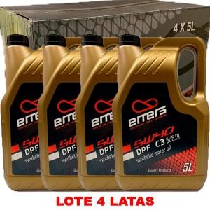 Emers Gold 5w40 C3 505 01 5L CAJA 4 UNIDADES