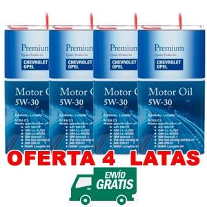 Opel 5w30 Synthetic LongLife FANFARO 5L
