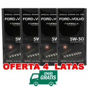 Ford 5w30 Formula Super FANFARO 5L PACK 4 LATAS