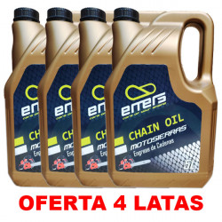 Aceite Motosierra Emers 5L PACK 4 LATAS