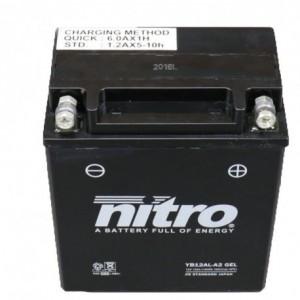 BATERIA MOTO YB12AL-A2 GEL NITRO