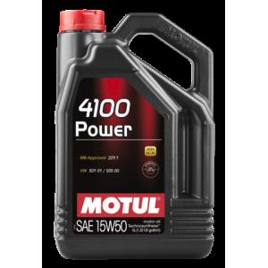 Aceite Motul 4100 Power 15w50 5Ltrs
