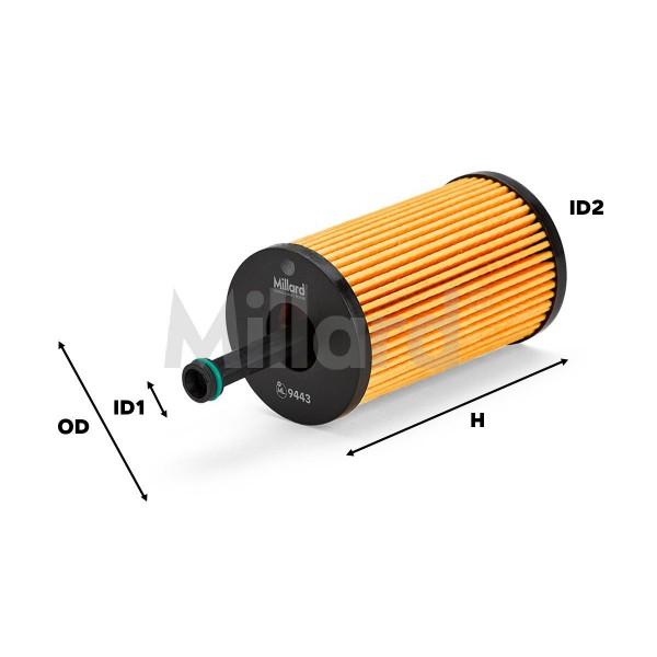 Filtro Aceite Millard ML-9443