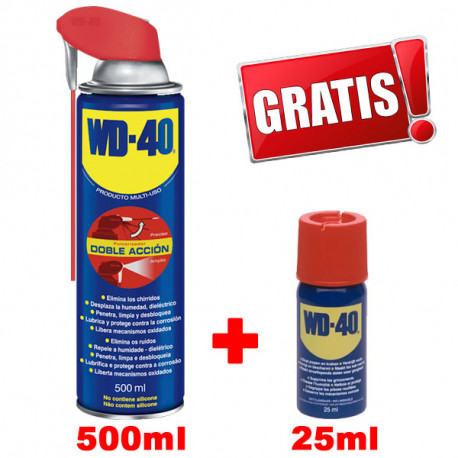 Multi Usos WD40 Doble Accion 500ml