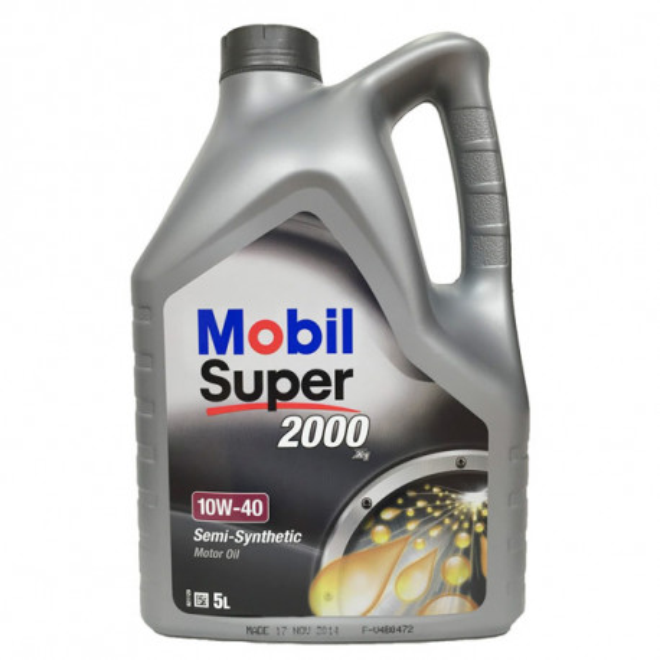 Mobil Super 2000 X1 10w40 5Ltrs