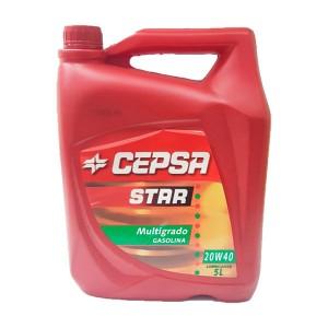 CEPSA STAR MULTIGRADO 20W40 5L