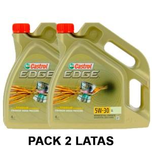 Castrol 5w30 Edge Titanium LL 4L PACK 2 LATAS