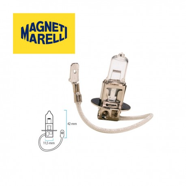 Lampara MAGNETI MARELLI H3 12V UNIVERSAL