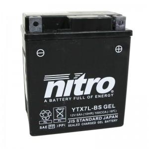 BATERIA MOTO YTX7L-BS NITRO (GEL)