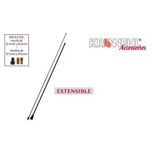 Antena Extensible Metálica 36 cm - 65 cm