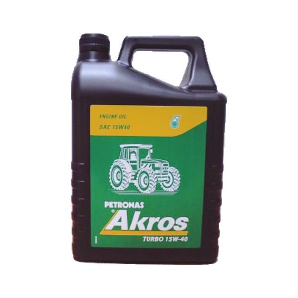 Petronas Akros Turbo 15w40 5ltrs