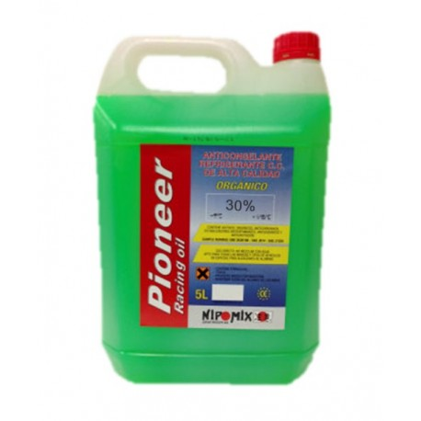 Anticongelante 30% organico verde power-one 5Ltr