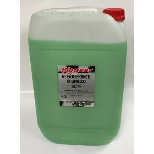 Pioneer Anticongelante-Refrigerante verde 30% organico 25Ltrs
