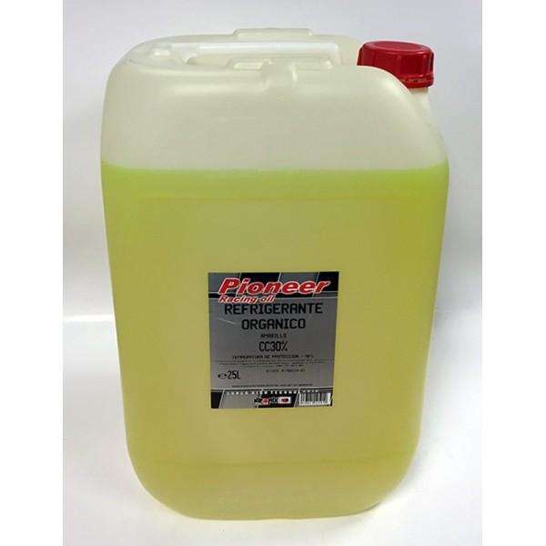 Pioneer Anticongelante amarillo 30% organico 25Ltr
