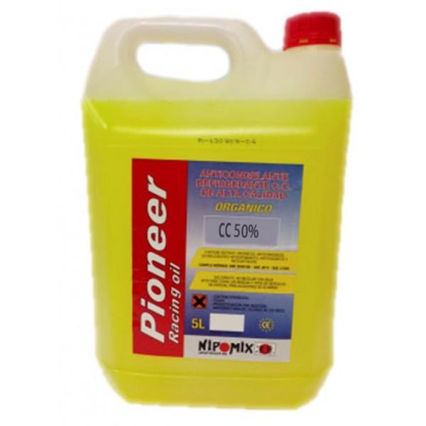 Pioneer Anticongelante amarillo 50% organico 5Ltr
