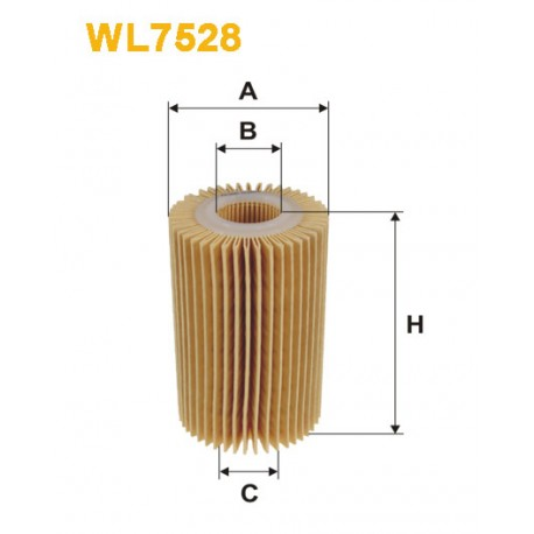 Filtro aceite Wix WL7528