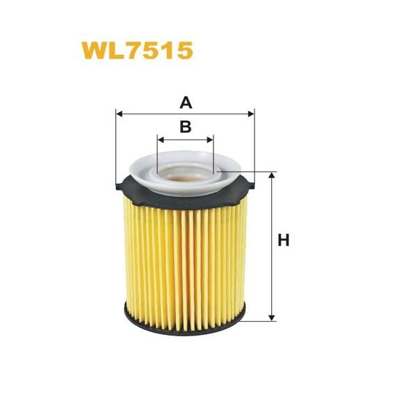 Filtro aceite Wix WL7515