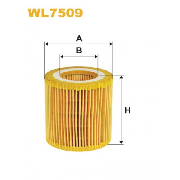 Filtro aceite Wix WL7509