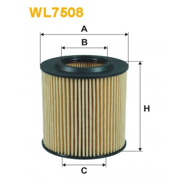 Filtro aceite Wix WL7508