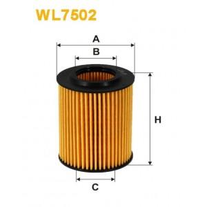 Filtro aceite Wix WL7502