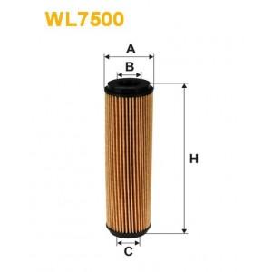 Filtro aceite Wix WL7500
