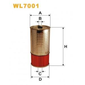 Filtro aceite Wix WL7001