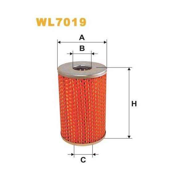 Filtro aceite Wix WL7019