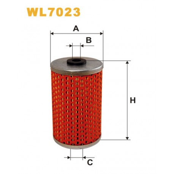 Filtro aceite Wix WL7023