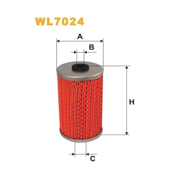 Filtro aceite Wix WL7024